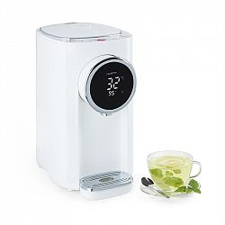 Klarstein Hot Spring, forró víz adagoló, 5 literes, rozsdamentes acélból készült víztartály, 45-95 °C, fehér