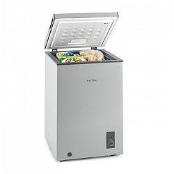 Klarstein Iceblokk, 100 l, szürke, fagyasztó, fagyasztószekrény, 75W A+