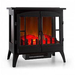 Klarstein Innsbruck, elektromos kandalló, 1000/2000 W, termosztát, fekete