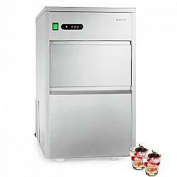 Klarstein ipari jégkockagyártó készülék, 160 W, 25 kg/nap, rozsdamentes acél