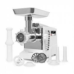 Klarstein Kraftprotz, elektromos húsdaráló, 700 W, réz motor, fehér/ezüstszínű