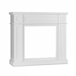 Klarstein Lausanne Frame kandalló keret, MDF, klasszikus dizájn, fehér