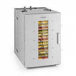 Klarstein Master Jerky 16, szárítógép, 1500 W, 40 - 90 °C, 15órás időzítő, nemesacél, ezüst
