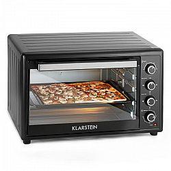 Klarstein Masterchef XL, fekete, elektromos sütő, 100 l, 2700 W, rozsdamentes acél