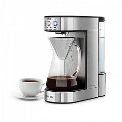 Klarstein Perfect Brew, kávéfőző, 1800 W, időzítő, üvegkancsó, nemesacél, ezüst