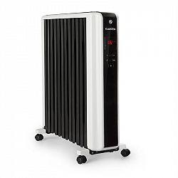 Klarstein Thermaxx 2500, olajradiátor, 2500 W, 5 - 35 °C, 24-órás időzítő, fehér-fekete