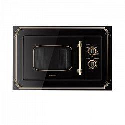 Klarstein Victoria 20, beépíthető mikrohullámú sütő, 20 l, 800 W, grill: 1000 W, fekete