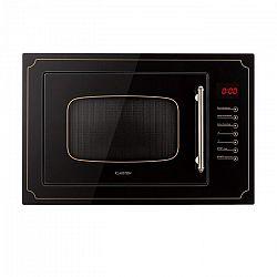 Klarstein Victoria 25, beépíthető mikrohullámú sütő, 25 l, 900 W, grill: 1000 W, fekete