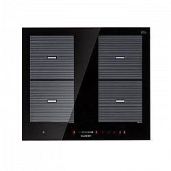 Klarstein Virtuosa Flex 60, indukciós főzőlap, 4 zóna, 7200W, beépíthető, fekete