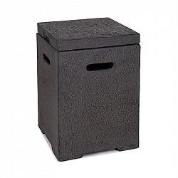 Blumfeldt Gas Garage, gázpalack tároló doboz, max. 8 kg-ig, sötétszürke