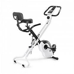 Capital Sports Azura X1 X-bike szobakerékpér, max. 120 kg, pulzusmérő, összecsukható, 4 kg, fehér