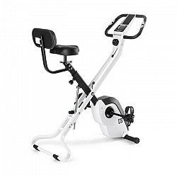 Capital Sports Azura X2 X-bike szobakerékpér, max. 120 kg, pulzusmérő, összecsukható, 4 kg, fehér