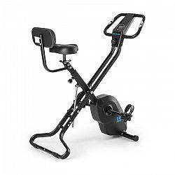 Capital Sports Azura X2 X-bike szobakerékpér, max. 120 kg, pulzusmérő, összecsukható, 4 kg, fekete