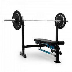 Capital Sports Benchex erősítő pad, ferde és vízszintes pad, max. 250 kg, kék