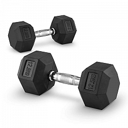 Capital Sports Hexbell 12,5, 12,5kg, kézisúlyzó pár (dumbbell)