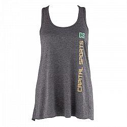 Capital Sports női edző trikó, sötétszürke, M méret