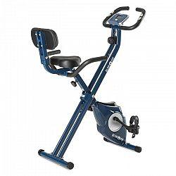 Klarfit Azura Pro X-Bike szobakerékpár, max. 100 kg, pulzusmérő, összecsukható, 3 kg, kék