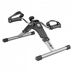 Klarfit Continus Pro Mini Bike, pedálos gép, edzőgép, kijelző, összecsukható, fekete