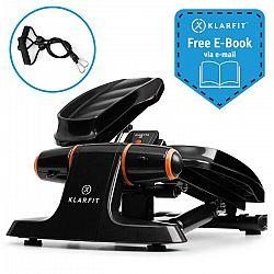 Klarfit Galaxy Step, mini taposógép, prémium taposó felület, LCD kijelző, fekete/narancssárga