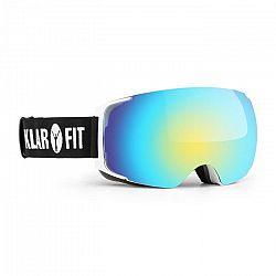 Klarfit Snow View 2, fehér, síszemüveg, snowboard szemüveg, réteg