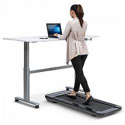 Klarfit Workspace Go Light, futópad, 350 W, 0.8 - 6 km/h, 11 cm-es magasság, fekete