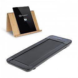 Klarfit Workspace GoLight, futópad, tablet tartó, 350 W, 0.8 - 6 km/óra, fekete