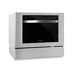 Klarstein Amazonia 6 Luminance, mosogatógép, szabadonálló, 1380 W, fehér