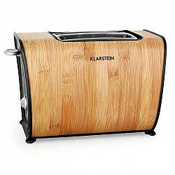 Klarstein Bamboo Garden kenyérpirító, 2-szeletes, 870 W