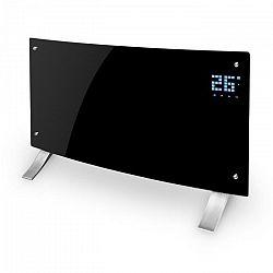 Klarstein Bornholm Curved konvekciós hősugárzó, termosztát, időzítő, 2000 W, fekete
