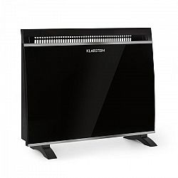 Klarstein Gotland, üvegkonvektor, 600/900/1500 W, szabadonálló, fekete