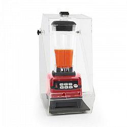 Klarstein Herakles 5G, asztali mixer burkolattal, 1500W, 2,0 PS, 2 liter, BPA-mentes, piros