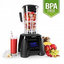 Klarstein Herakles-8G-B, 1800 W, 2 liter, asztali mixer, fekete, zöld smoothie, BPA nélkül