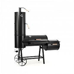 Klarstein Monstertruck grill, füstölő, BBQ, acél, fekete