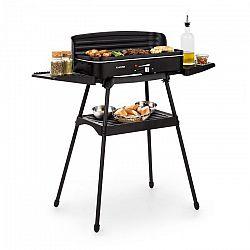 Klarstein Porterhouse, elektromos grillsütő, 2200 W, tapadásmentes grillező felület, fekete