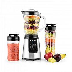 Klarstein Shiva asztali mixer, mini smoothie készítő, 0,8 l, 350 W, BPA mentes, fekete