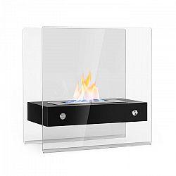 OneConcept Phantasma Glassy, etanolos kandalló, füstmentes, rozsdamentes acél égő, rozsdamentes acél