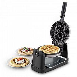 OneConcept Wafflemaster, 1000 W, Ø 17 cm, gofrisütő, forgatható