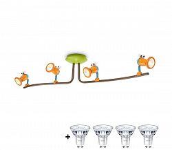 Philips Philips 40092/34/16 - Gyerek mennyezeti lámpa LUNARDO 1xE27/12W230V másodosztályú