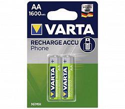 Varta Varta 58399 - 2 db tölthető elem PHONE ACCU AA NiMH/1600mAh/1,2V