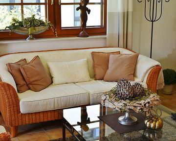 Fonott vagy rattan bútorok kültérre és beltérre is