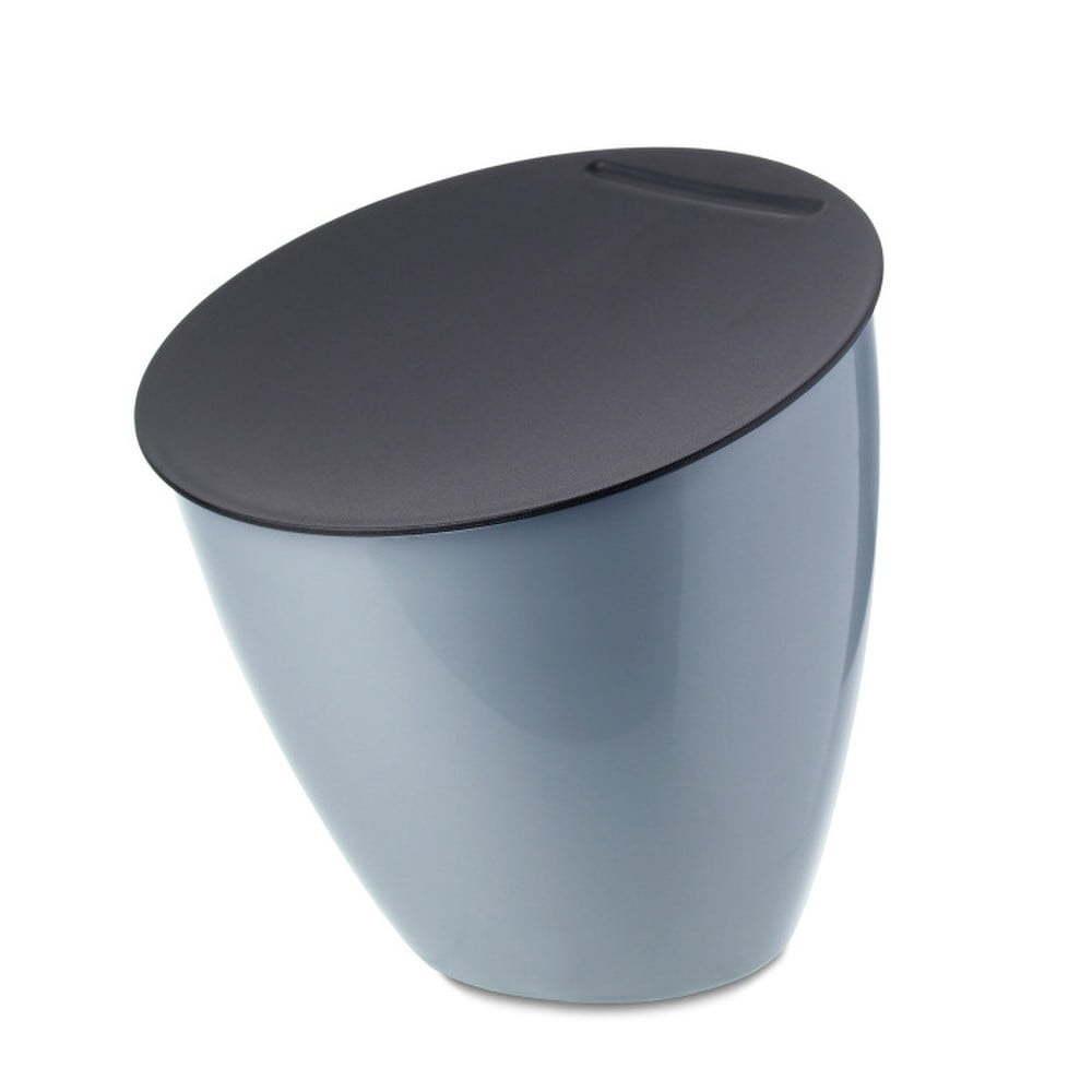 Calypso kisméretű szemeteskosár a konyhapultra, 2,2 liter, világoskék - Rosti Mepal