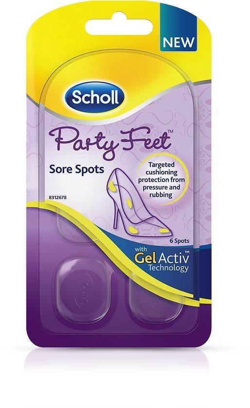 SCHOLL Party Feet GelAtiv Lábpárnák érzékeny lábakhoz 1 pár