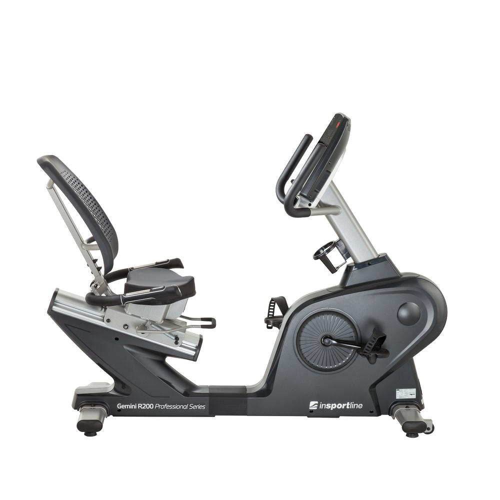 Háttámlás szobakerékpár inSPORTline Gemini R200