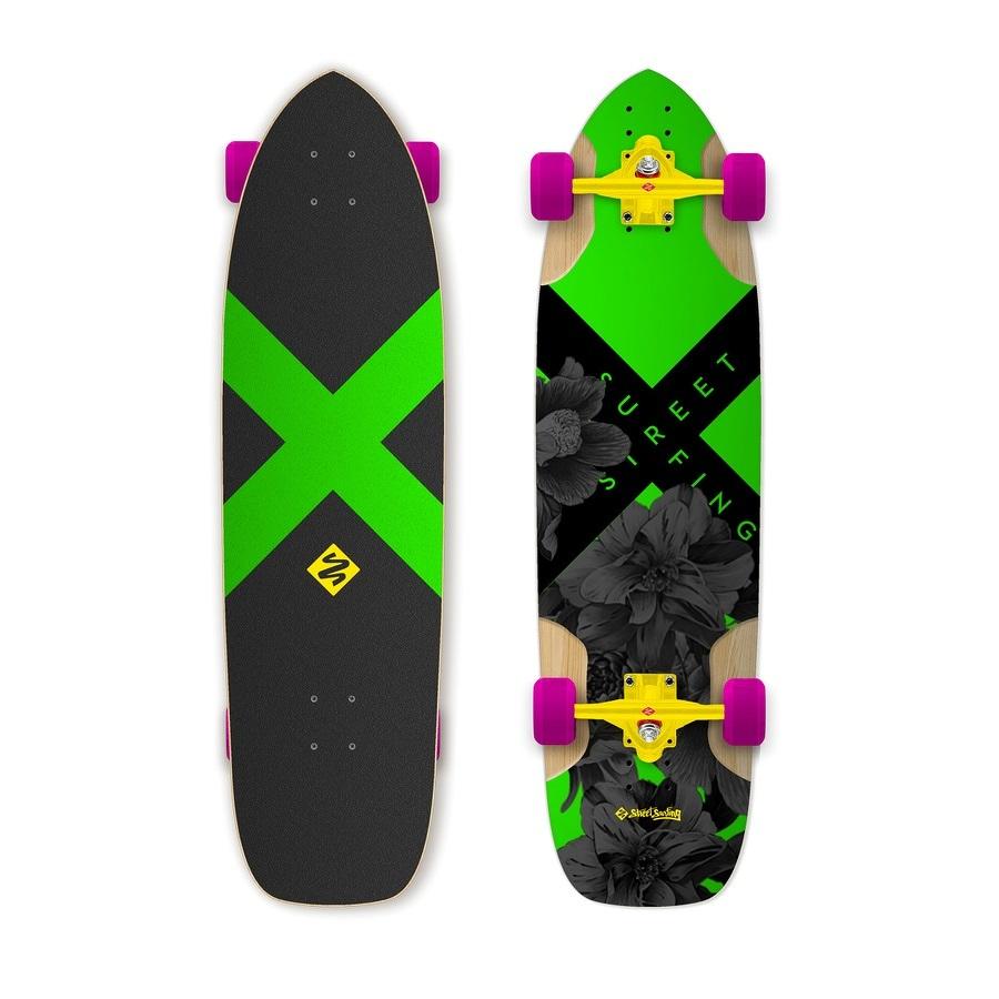 Longboard Street Surfing Freeride Electrica 36