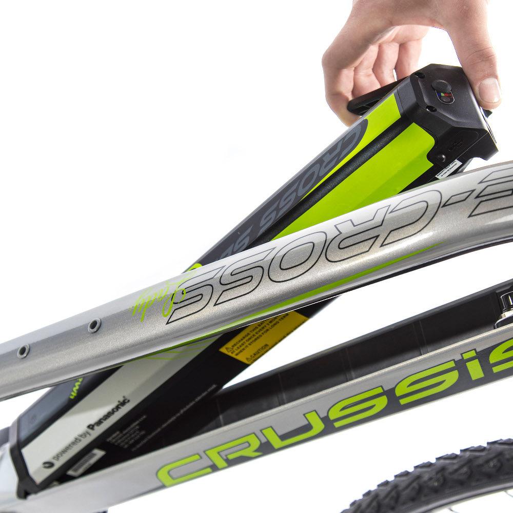 Női cross elektromos kerékpár Crussis e-Cross Lady 7.4 - modell 2019