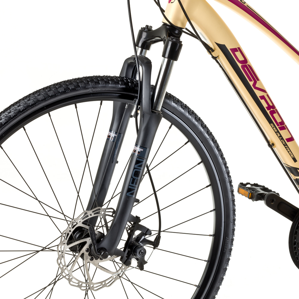 Női cross kerékpár Devron Urbio LK2.8 - 2017