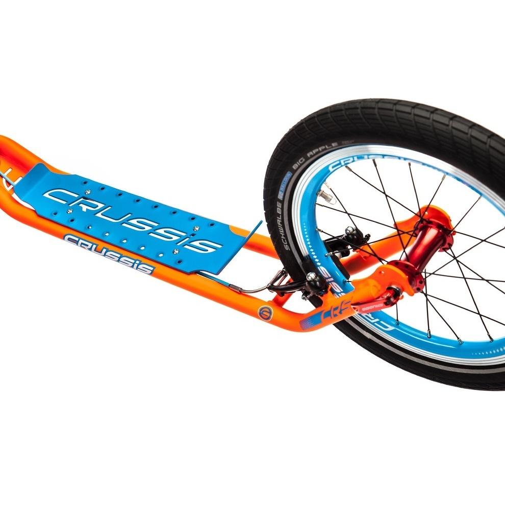 Roller Crussis Active 4.2 narancs-kék