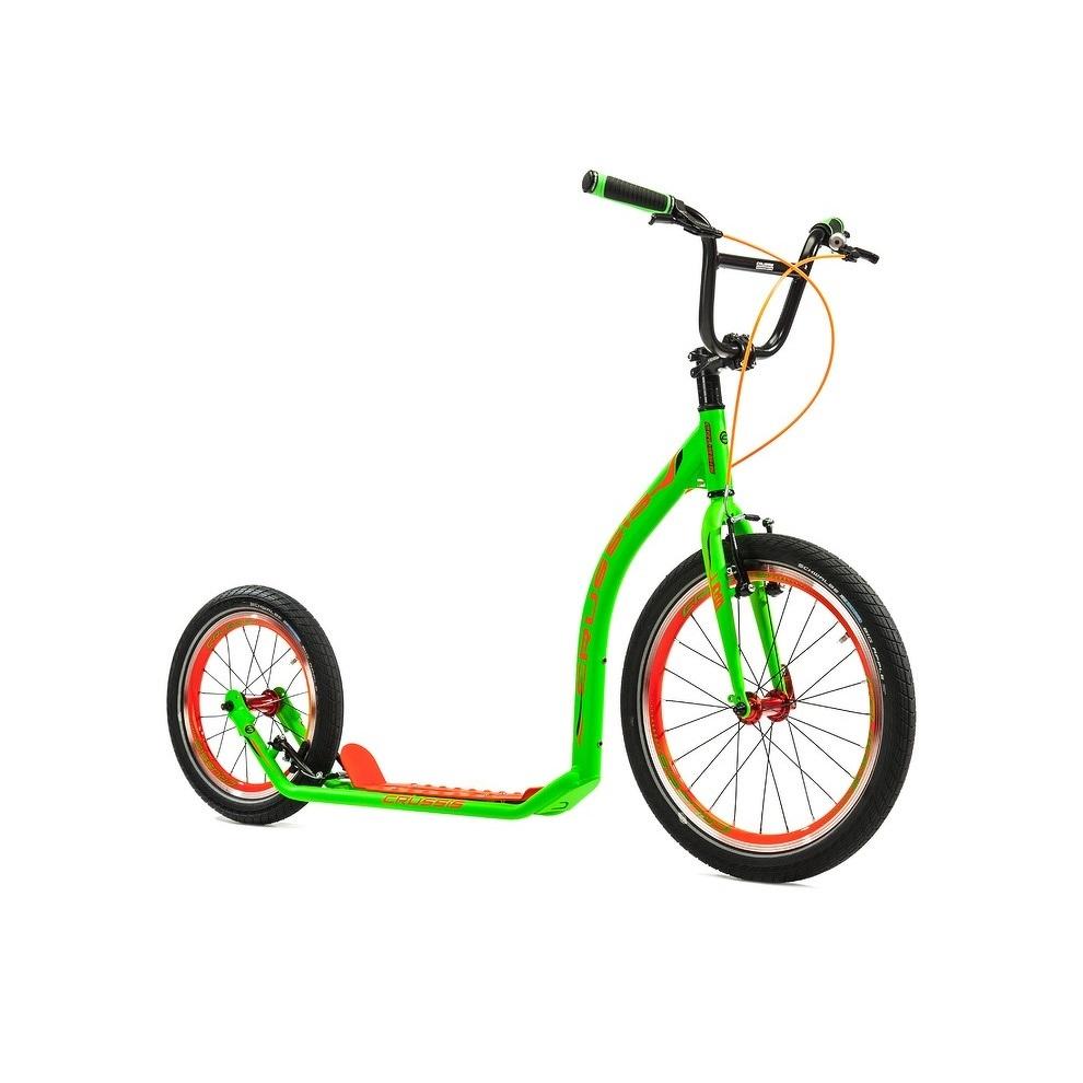 Roller Crussis Active 4.3 zöld-narancs