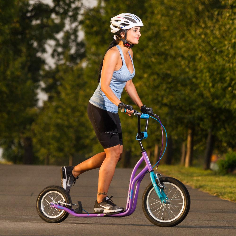 Roller inSPORTline Suter SE lila-kék