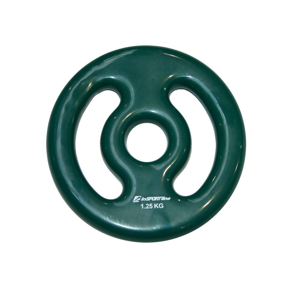 Súlyzótárcsa inSPORTline Ergo vinyl 1,25 kg